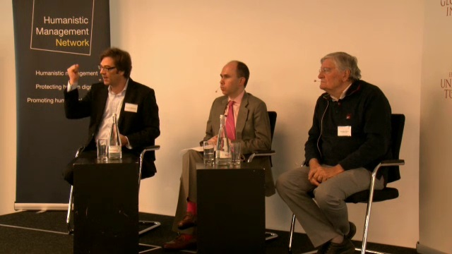 Panel III – Which qualitative orientation do we need?, Policies for a better life