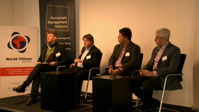 Panel II - Impacting higher Well-Being Through Innovation - Learning from Practice on how to...