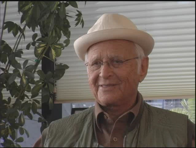 Norman Lear, television and film writer and producer