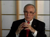Newton Minow, former chairman of the Federal Communications Commission.