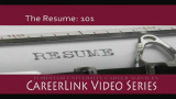 Career Services - The Resume: 101
