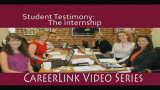 Career Services - Student Testimony: The Internship