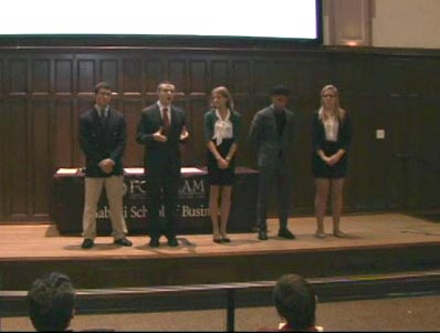Gabelli School Of Business Competition