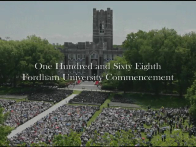 Fordham University Commencement 2013