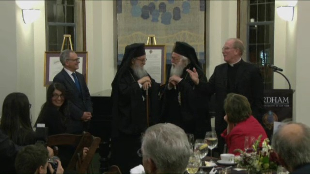 His Beatitude, Anastasios, Archbishop of Tirana, Durrës, and All Albania Dinner