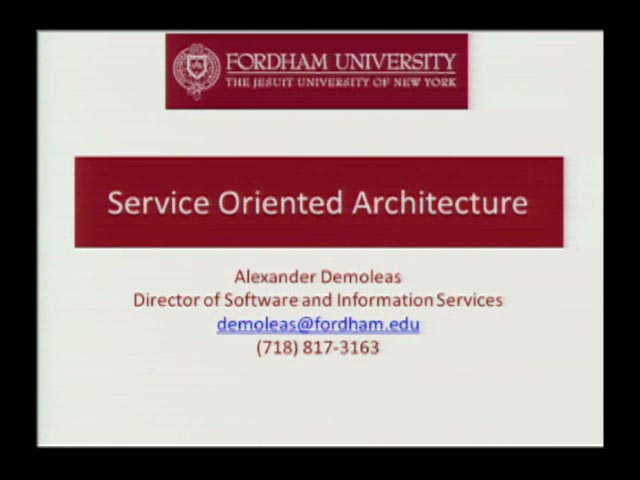 Learn IT - Service Oriented Architecture
