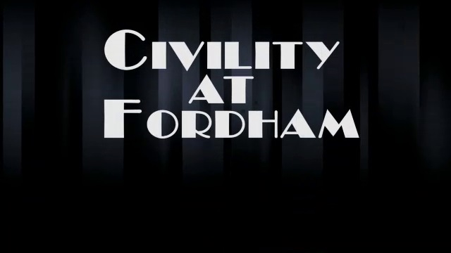 Civility at Fordham - Lincoln Center