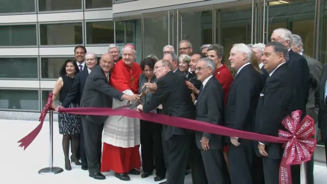 Fordham University School of Law New Building Dedication