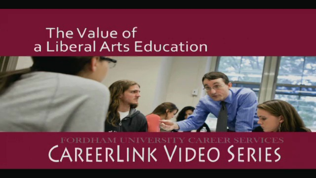 Career Services - The Value of a Liberal Arts Education