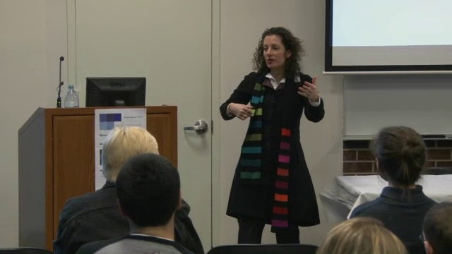 Beth Noveck:Inaugural Speaker Series, New Media and Digital Design