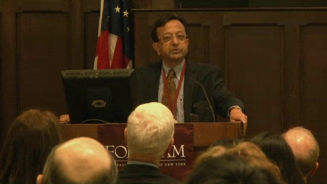 Gabelli Professor of Security Analysis, Sris Chatterjee