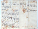 Letter to C.M. Bailey by Page Richardson & Co. on Nov. 4, 1865 from Boston, MA