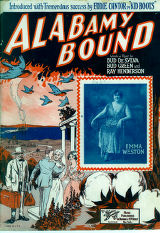 Alabamy Bound / words and music by Bud De Sylva, Bud Green, and Ray Henderson